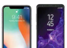 Galaxy S9+ versus iPhone X: compare os principais smartphones do momento