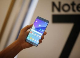 Samsung interrompe vendas do Galaxy Note 7 no mundo todo