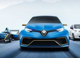 Novo conceito do Renault Zoe E-Sport é animal.