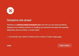 Chrome alertará internautas sobre botões de download falsos em sites