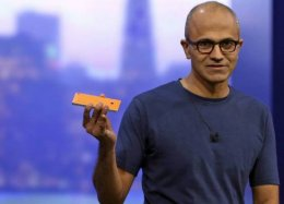 CEO da Microsoft explica por que a empresa ainda aposta no Windows Phone