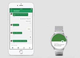 Relógios Android agora funcionam também com o iPhone.