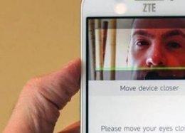 Você pode desbloquear o novo celular da ZTE com os seus olhos.