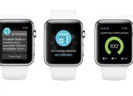 App permite que chefes usem relógios inteligentes para monitorar funcionários.