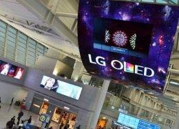 LG apresenta maior painel OLED do mundo