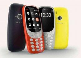 Celular Nokia 3310, o 'tijolão', é relançado na Finlândia.