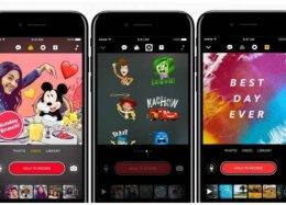Usuários do iPhone agora podem gravar vídeos com personagens da Disney e Pixar.