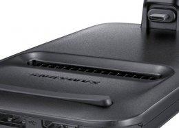 Pelo visto, a Samsung se superou na estranheza do design do DeX Pad.
