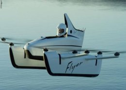 Flyer: o 'drone para humanos' que qualquer pessoa pode pilotar.