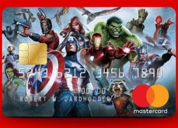 Mastercard e Marvel lançam cartões superpoderosos