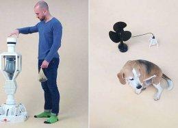 Máquina transforma fezes de cachorro em energia elétrica.