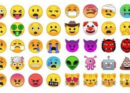 Android O terá novos emojis com formato mais convencional.