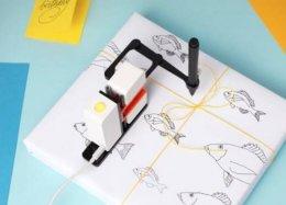 Projeto de braço robô desenhista é sucesso de financiamento coletivo.
