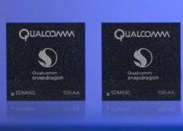Snapdragon 660 e 630 prometem melhorar conectividade e duração da bateria.