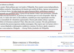 Wikipédia recebe doações via Paypal