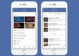 Facebook começa a atualizar recurso de eventos da rede social