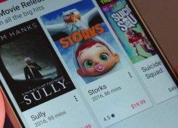 Google Play passa a vender filmes na resolução 4K.