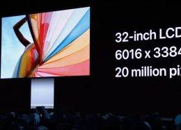 Apple apresenta o Pro Display XDR, seu primeiro monitor 6K.