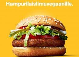 McVegan: o novo hambúrguer vegano do McDonald's.