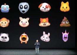 Animojis: Apple apresenta emojis animados
