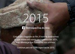 Ueba! Facebook lança retrospectiva de 2015