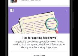 Facebook lança sistema para detectar notícias falsas.