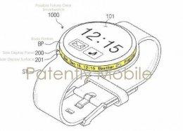 Samsung pode lançar relógio com duas telas.