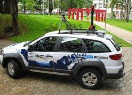 USP testa táxi que dirige sozinho.