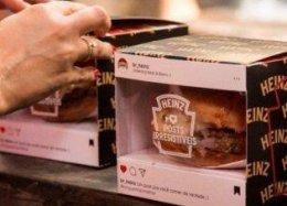 No Instagram, Heinz cria posts comestíveis para usuários.