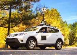 Uber põe carros com câmeras nas ruas para fazer mapeamento.