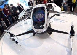 Dubai será a 1ª cidade a adotar táxis voadores autônomos.