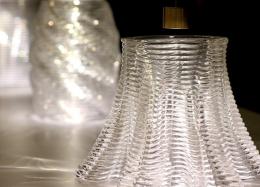 Vidro transparente agora pode servir como 'tinta' a impressoras 3D.