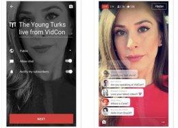 YouTube vai  permitir transmissões ao vivo pelo smartphone