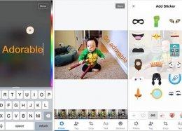 Facebook inaugura função para acrescentar texto e desenhos a fotos postadas.