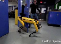 Robô da Boston Dynamics abre portas mesmo com alguém tentando atrapalhar