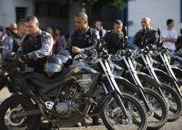 Trabalho da Polícia Militar do RJ será monitorado por câmeras.