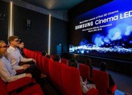 Primeira tela de cinema LED e 3D do mundo é inaugurada na Suíça