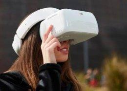 DJI Goggles: os óculos para pilotagem de drones 'sem as mãos'.