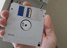 Modificação dá origem ao primeiro disquete de 128 GB da história