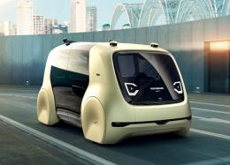 Volkswagen mostra seu 1º carro-conceito sem volante e pedais.