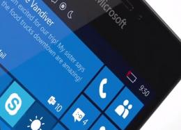 Windows 10 Mobile chega a aparelhos Lumia compatíveis em dezembro.