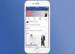 Facebook está transformando páginas de empresas em lojas.