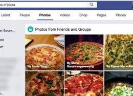 Facebook agora permite pesquisas de imagens pelo conteúdo exibido na foto.