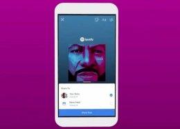 Spotify agora permite compartilhar músicas pelo Facebook Stories.