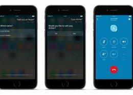Agora dá para fazer chamadas pelo Skype no iPhone usando a Siri