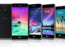 LG anuncia 5 novos smartphones.