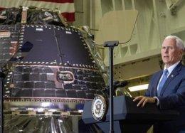 NASA conclui cápsula Orion que levará tripulação à Lua até 2022.