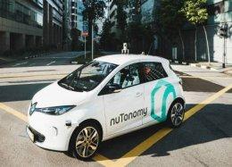 Táxis autônomos começam a operar em Singapura