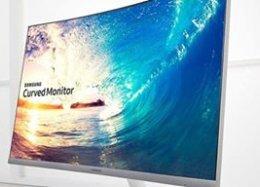 Samsung lança no Brasil monitor com a maior curvatura do mercado.