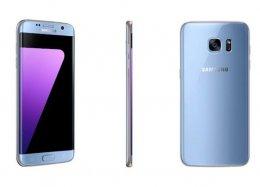 Samsung Galaxy S7 edge chega ao Brasil na cor azul coral.